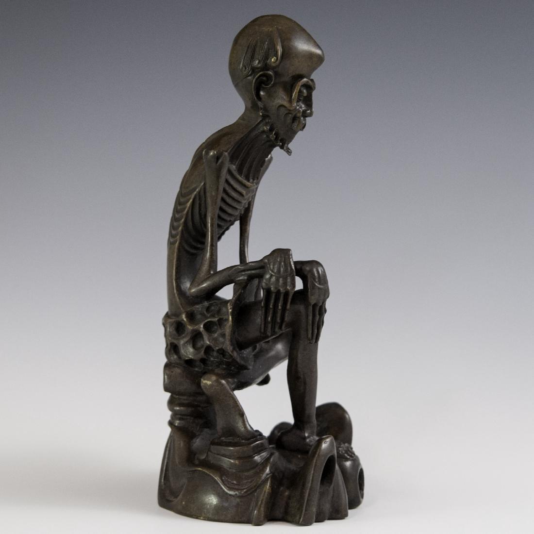 Chinese Bronze Luohan - 3