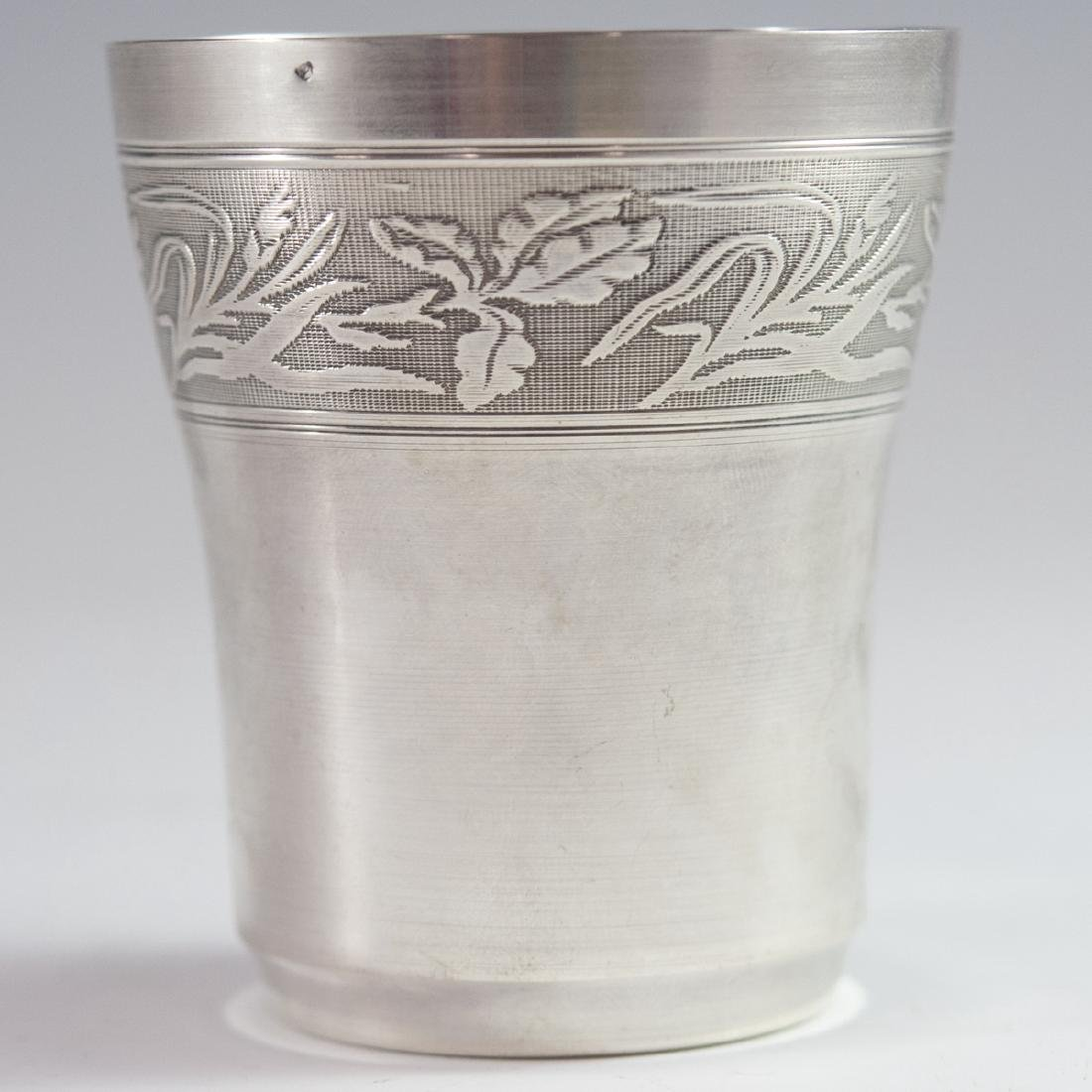 Antique French Sterling Cup - 4