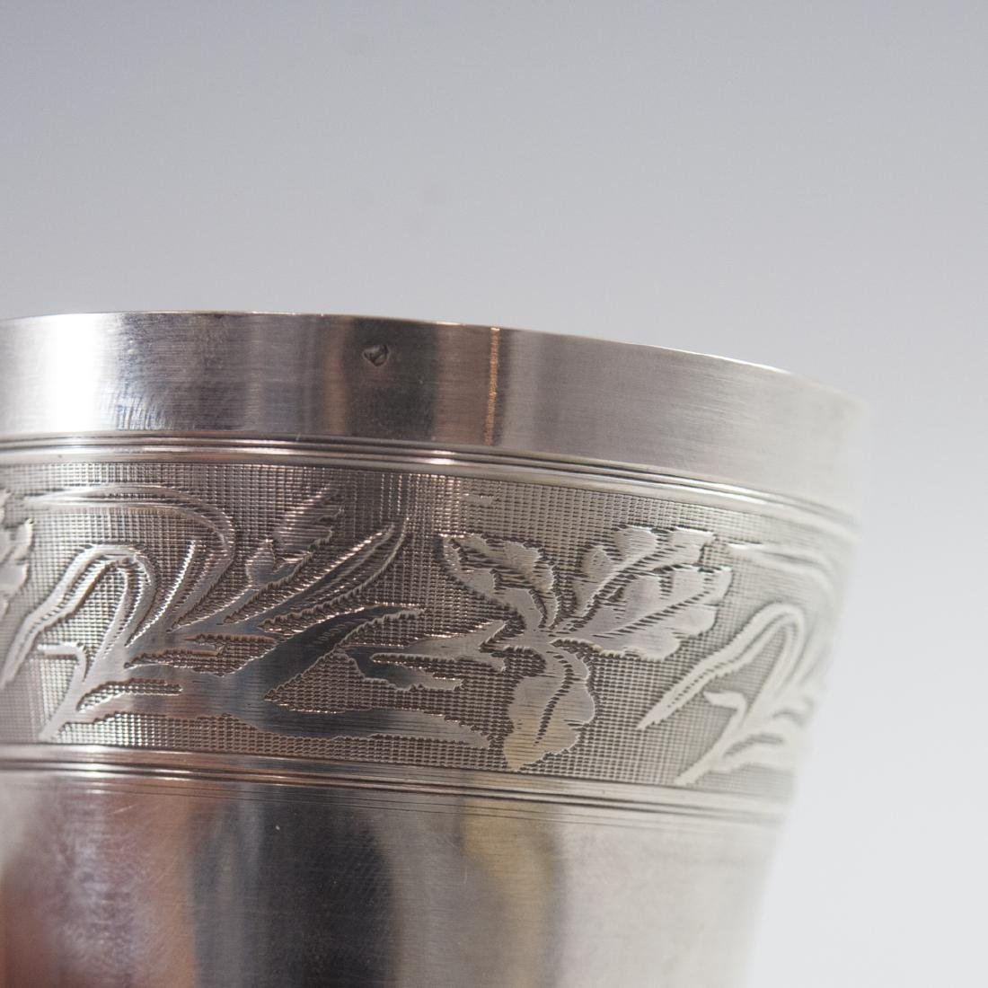 Antique French Sterling Cup - 5