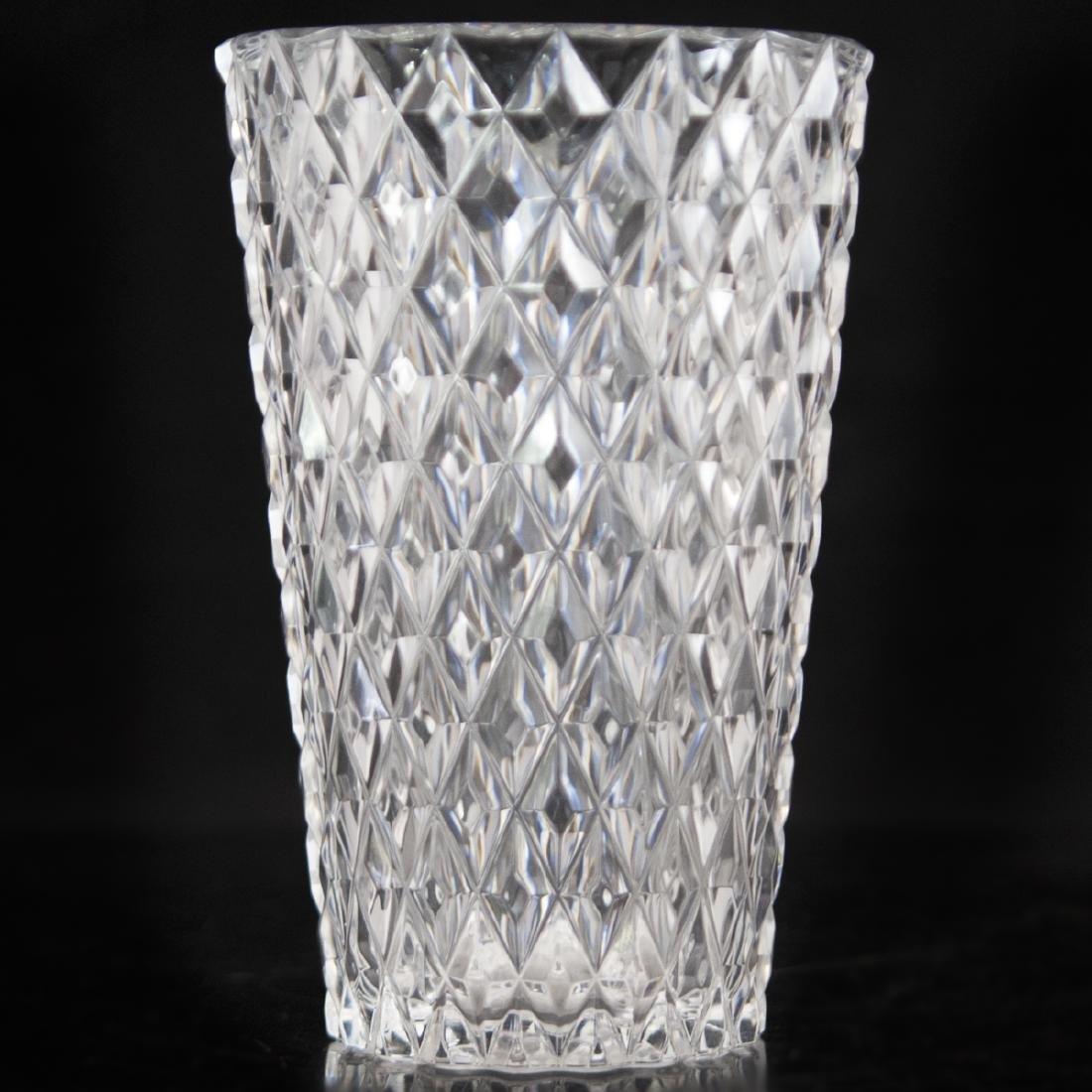 Val St Lambert Crystal Vase