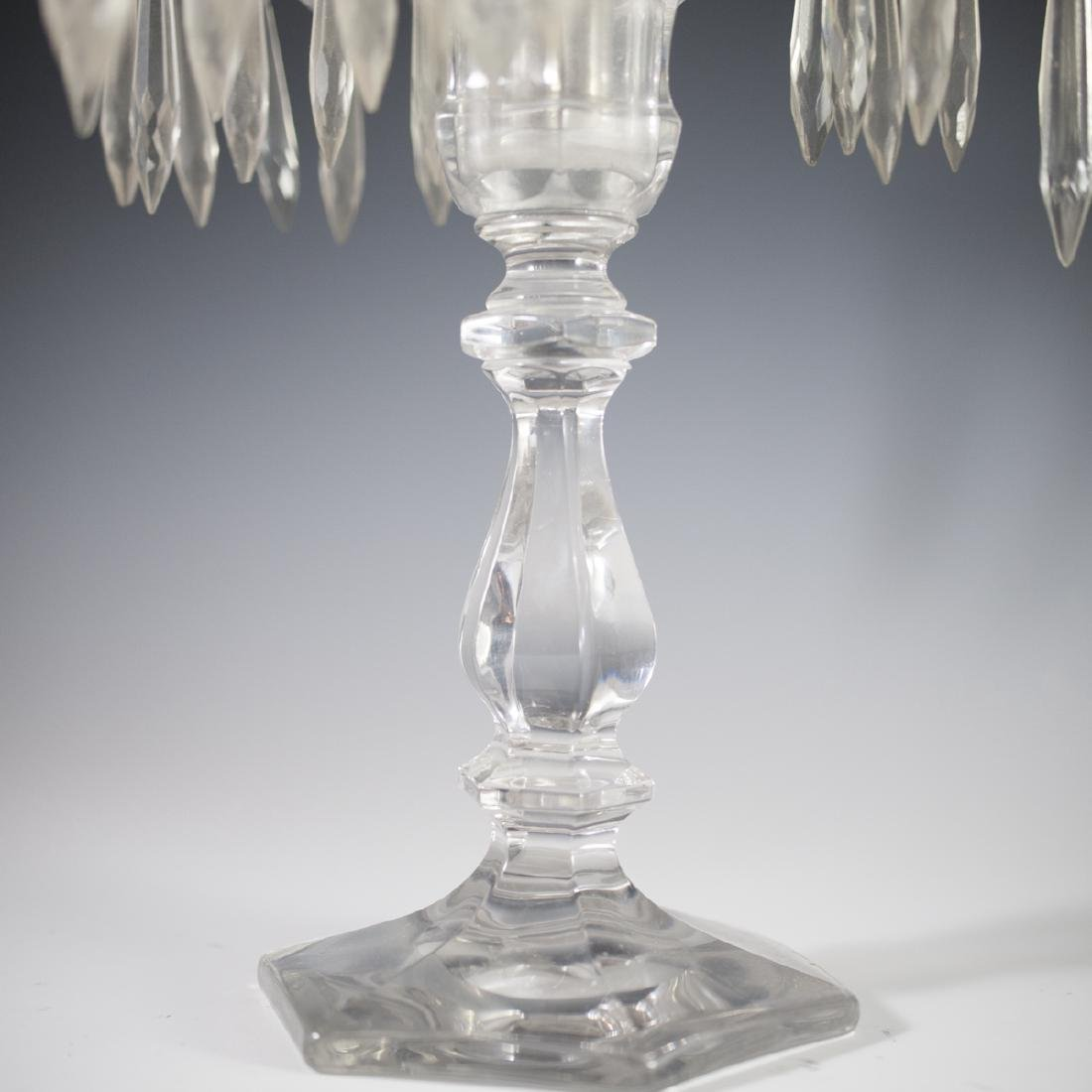 Antique Possibly Baccarat Crystal Candelabra - 2