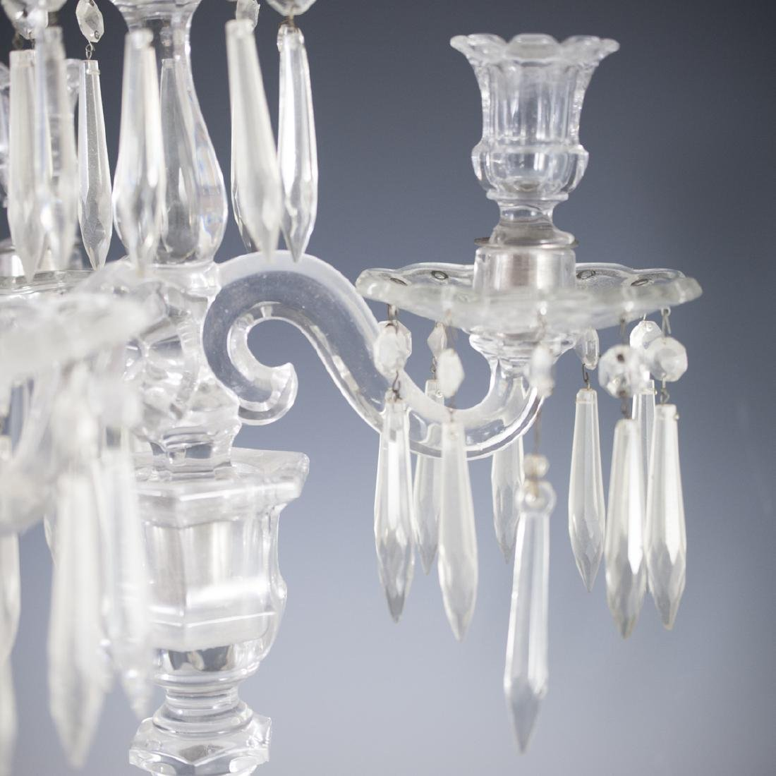 Antique Possibly Baccarat Crystal Candelabra - 3