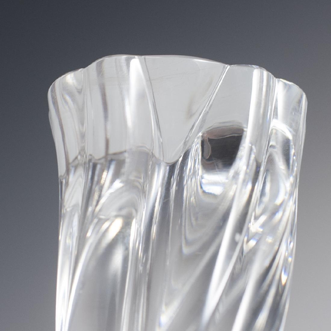 Baccarat Crystal Candlesticks - 4