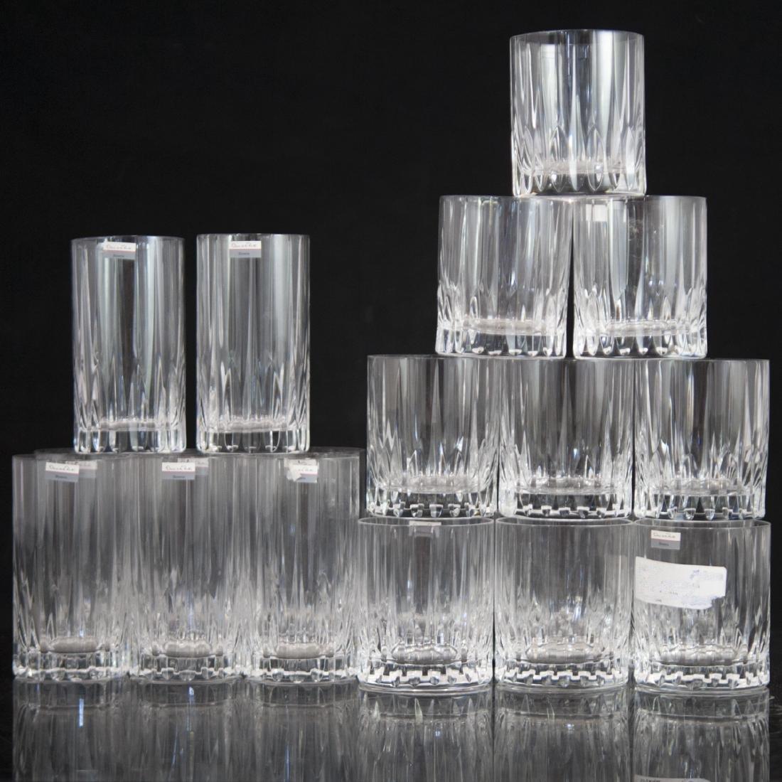 Oscar De La Renta Crystal Glasses