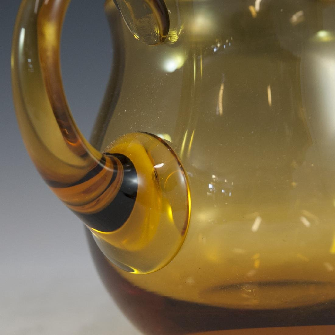Moser Amber Glass Water Pitcher - 5