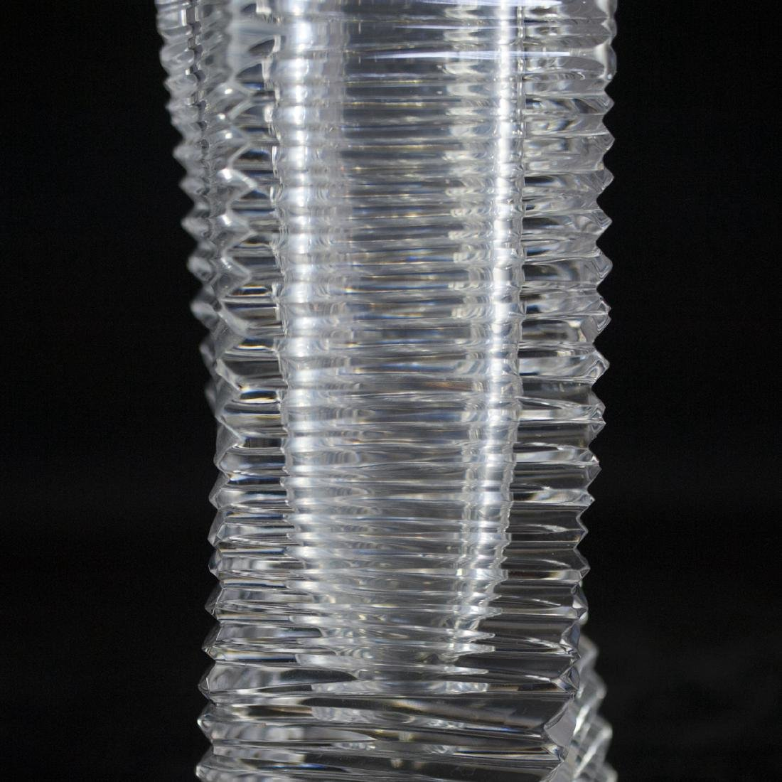 Japanese Crystal Vase - 2
