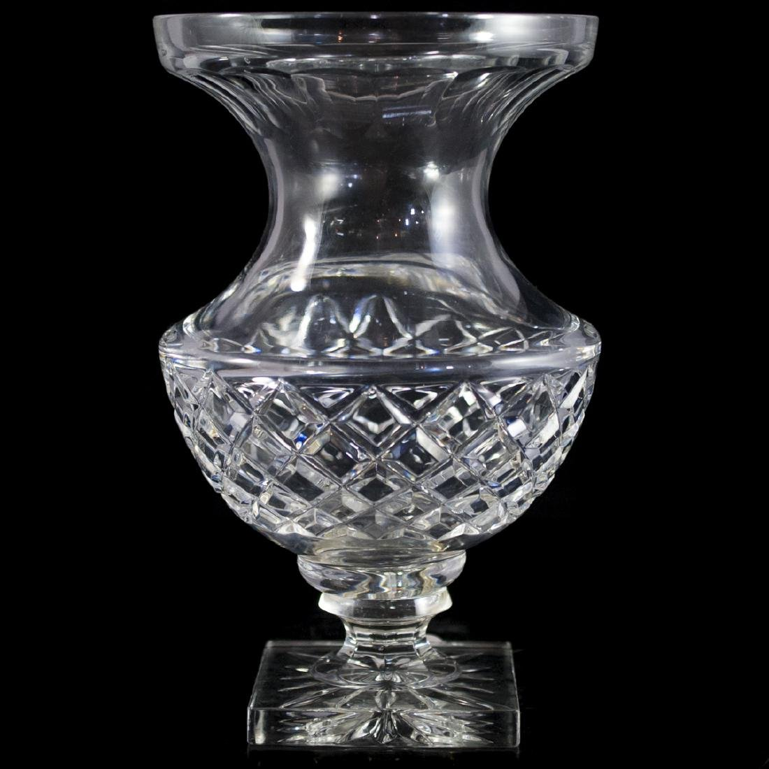 Large Crystal Vase