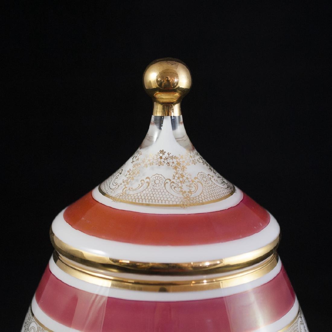 Bohemian Crystal Lidded Dish - 2
