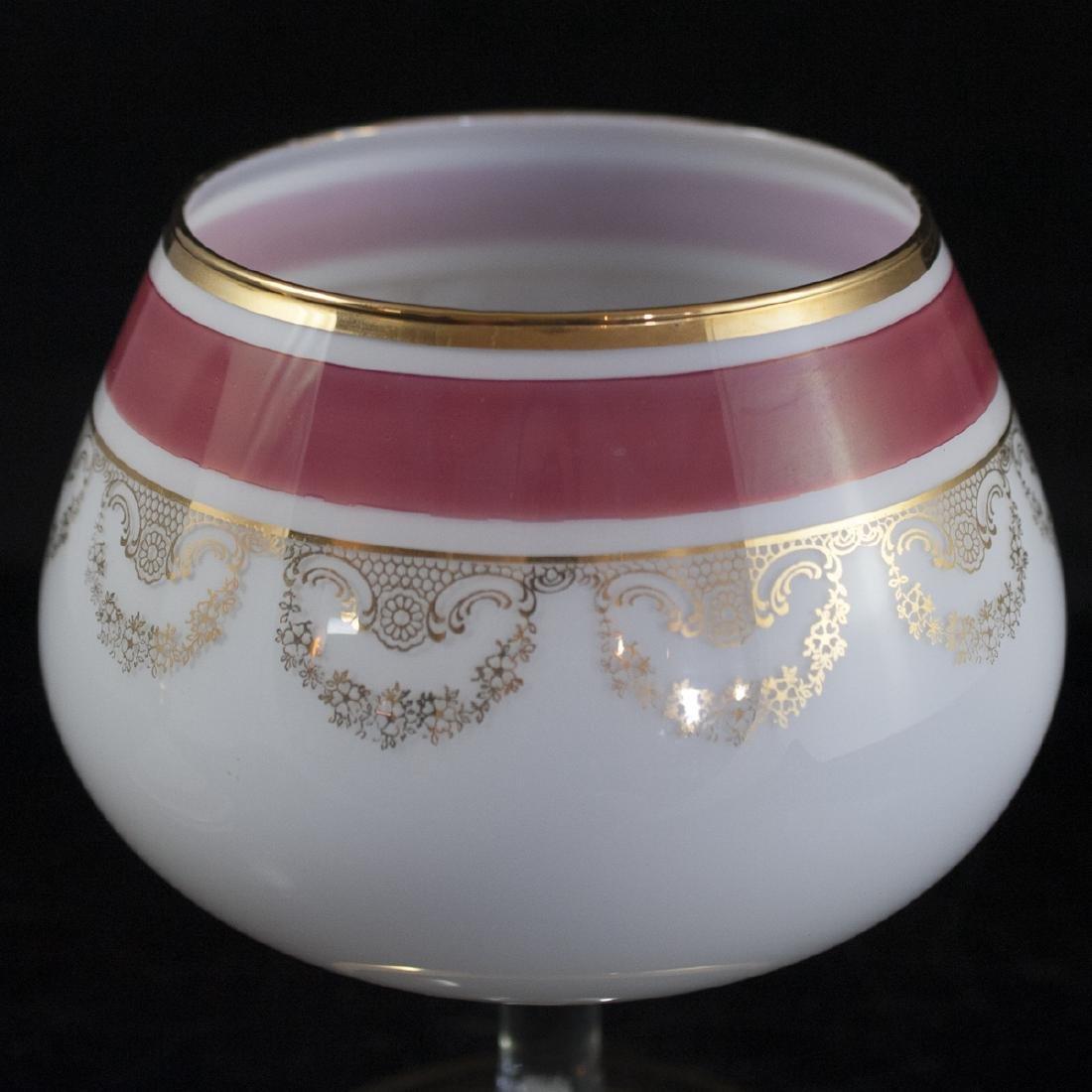 Bohemian Crystal Lidded Dish - 4