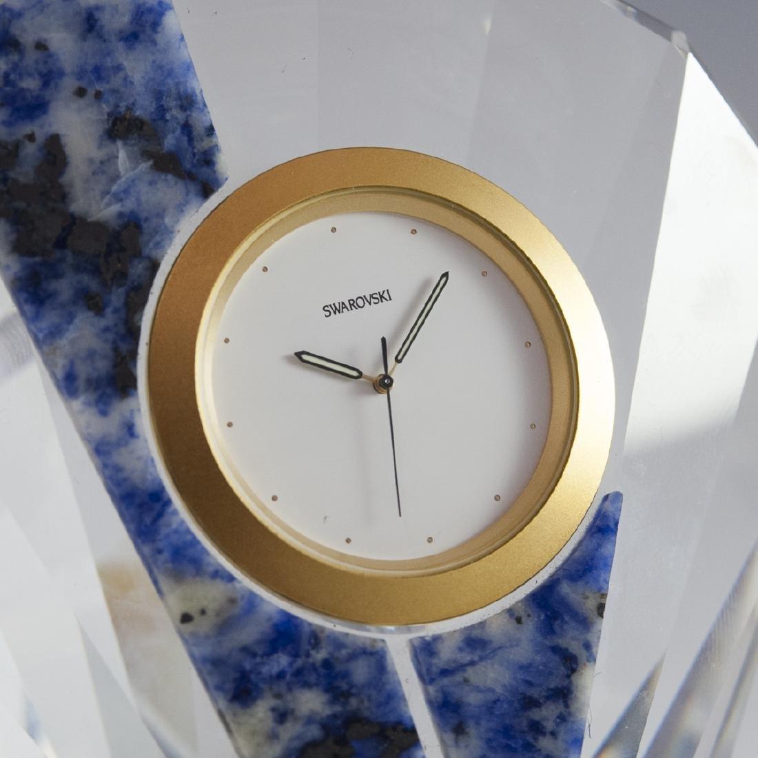 "Swarovski Crystal ""Curacao"" Clock - 2"