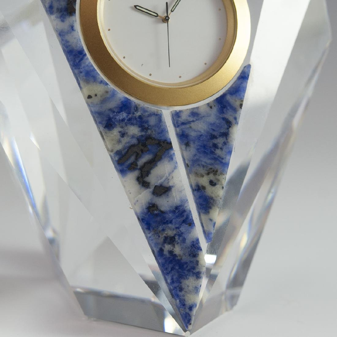 "Swarovski Crystal ""Curacao"" Clock - 5"
