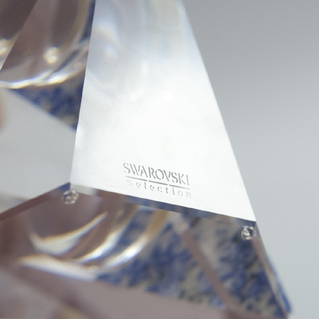 "Swarovski Crystal ""Curacao"" Clock - 7"