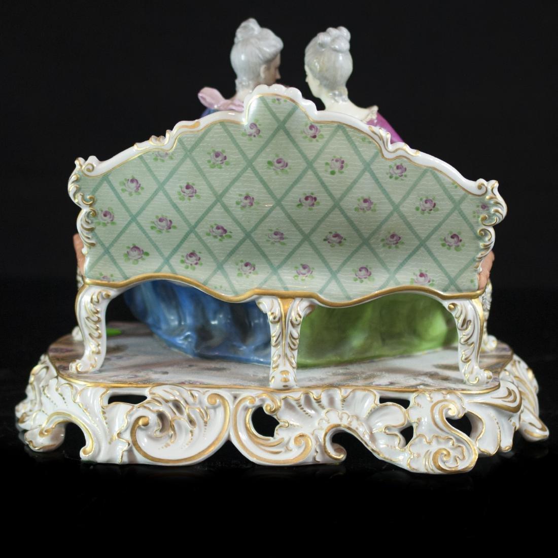 Antique Capodimonte Porcelain Figurine - 5