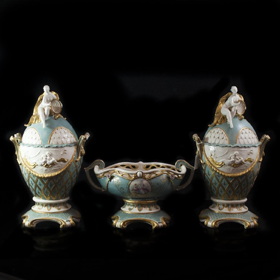 Porcellane Principe Capodimonte Set