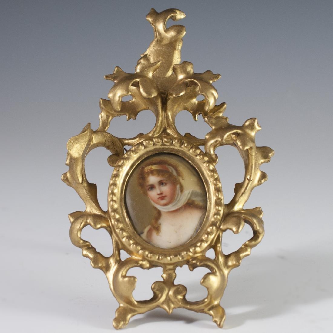 Italian Porcelain Portrait
