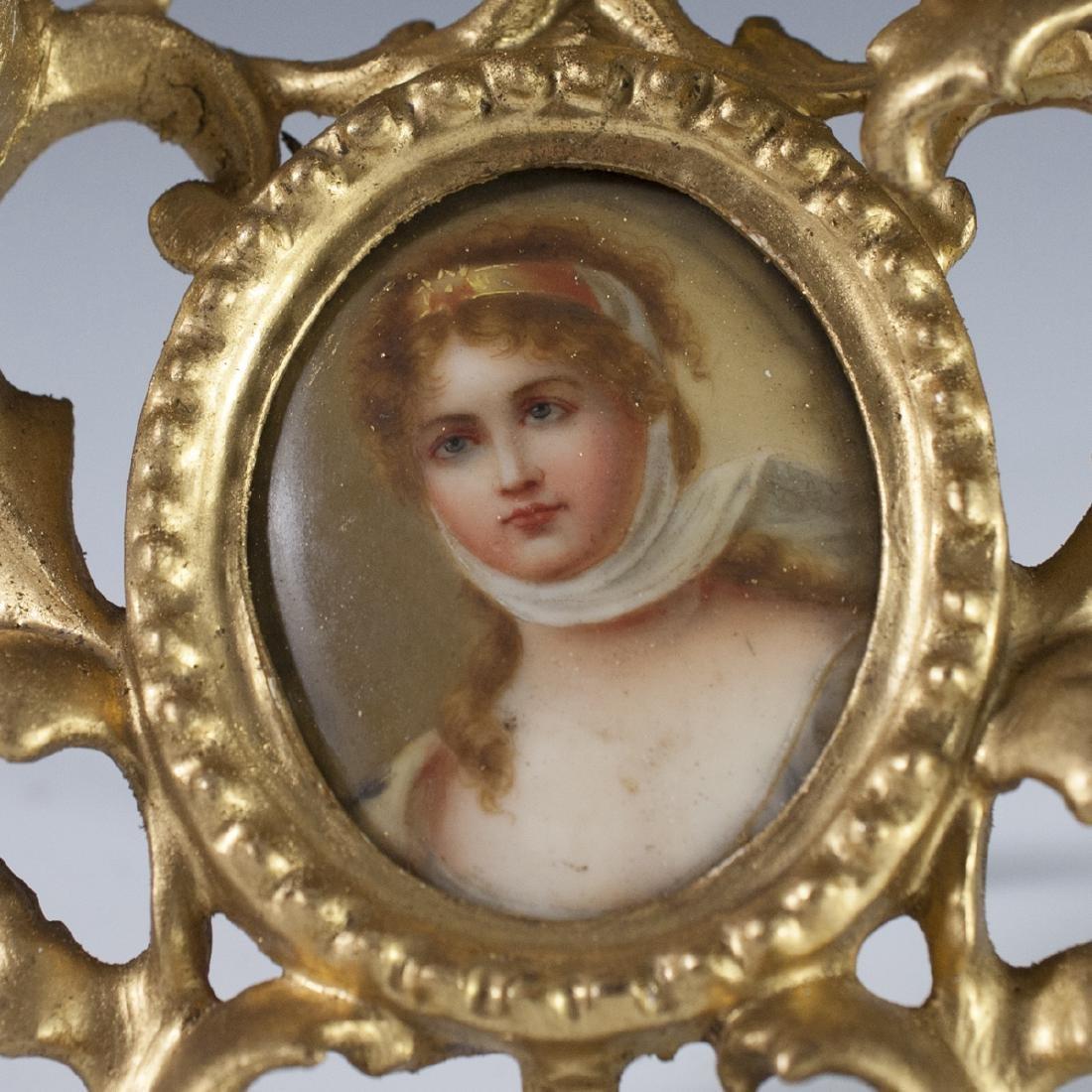 Italian Porcelain Portrait - 2