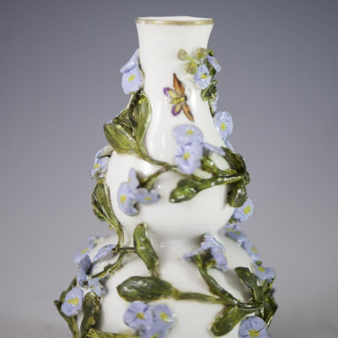 Antique Meissen Porcelain Vase - 3