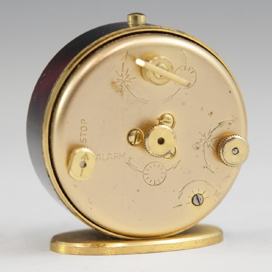 Jaeger Lecoultre Gilt Metal Travel Clock - 3