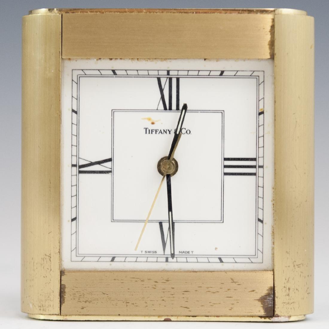Tiffany & Co. Brass Clock