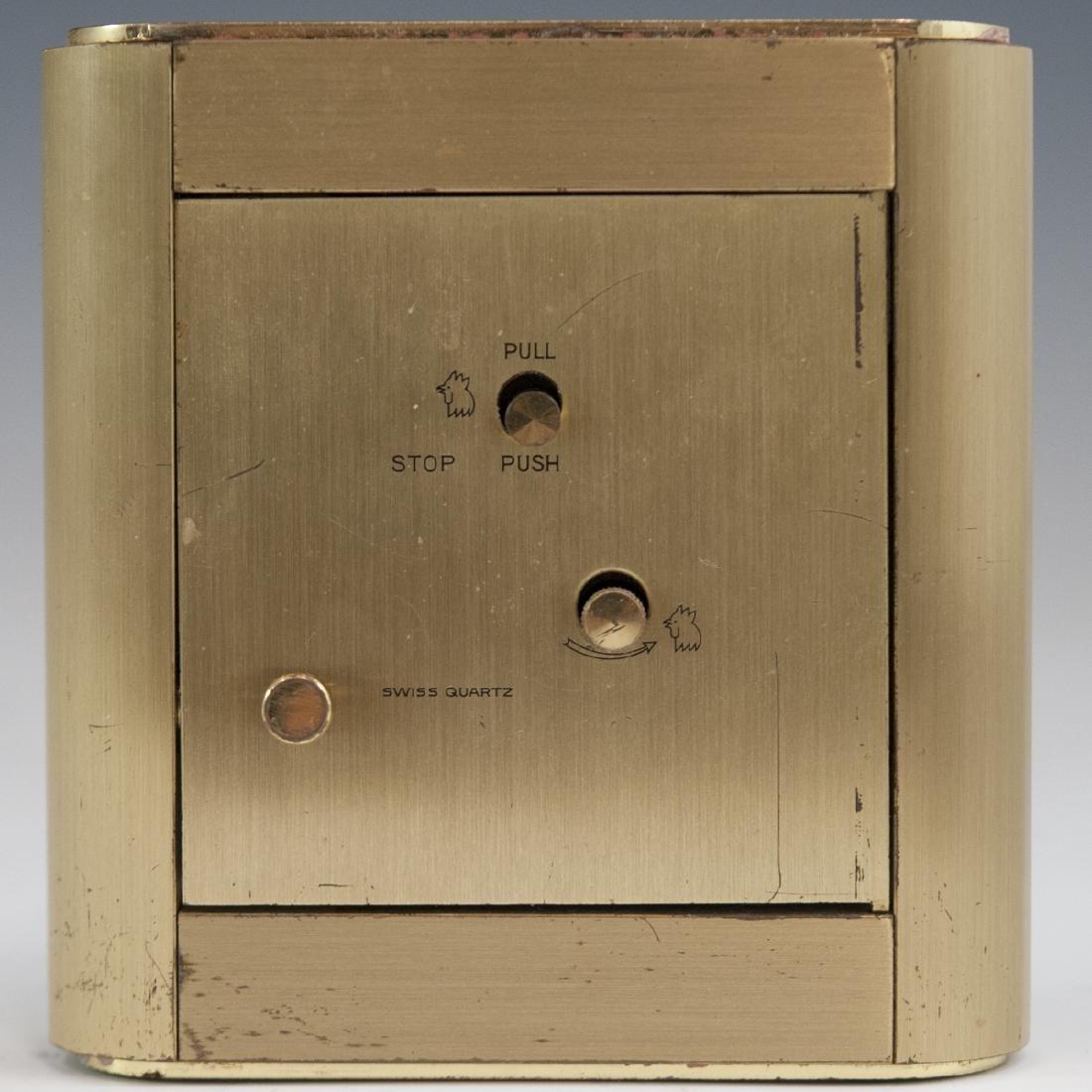 Tiffany & Co. Brass Clock - 2