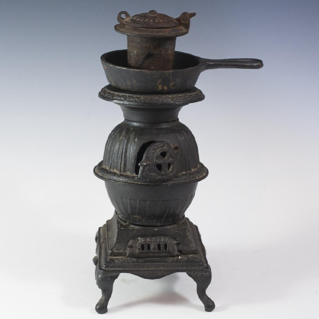 "Miniature ""Blaze"" Cast Iron Salesman Stove"