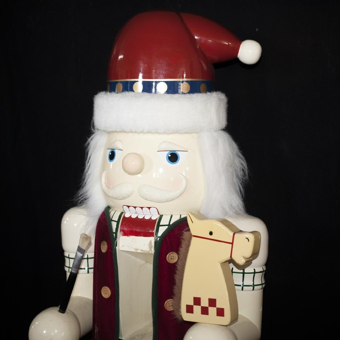 Palace Size Wooden Nutcracker Doll - 3
