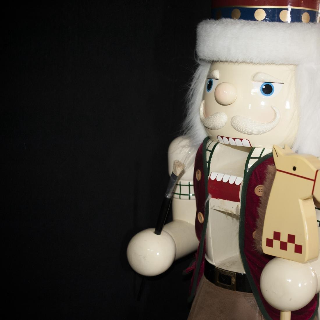 Palace Size Wooden Nutcracker Doll - 5