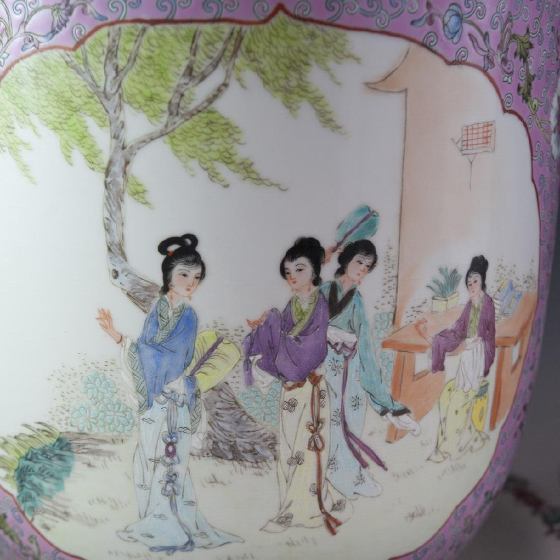 Chinese Export Famille Rose Porcelain Fishbowls - 3