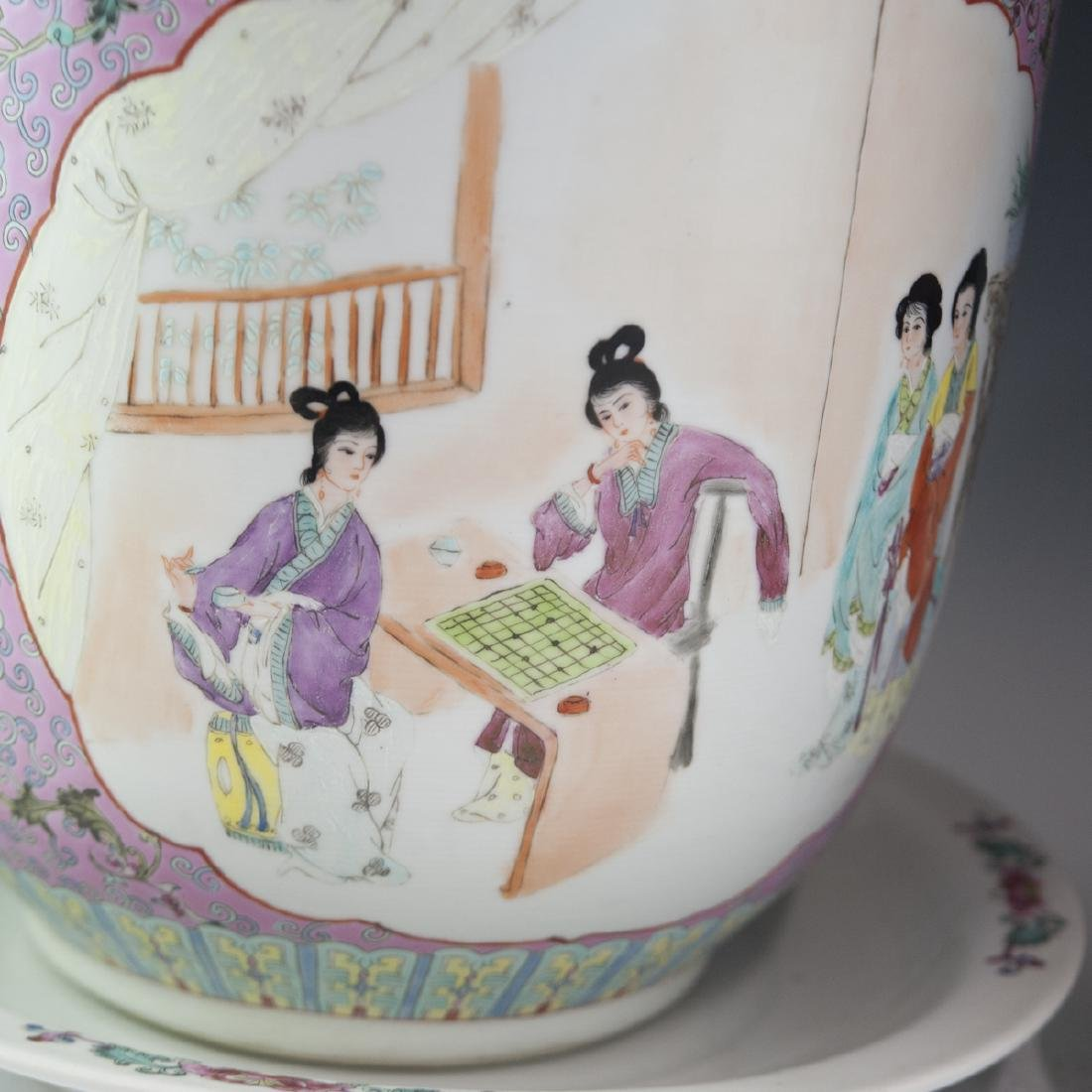 Chinese Export Famille Rose Porcelain Fishbowls - 5