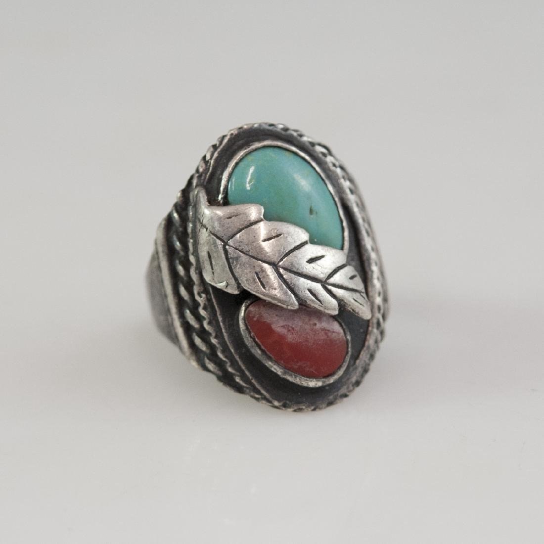 Navajo Style Sterling Ring