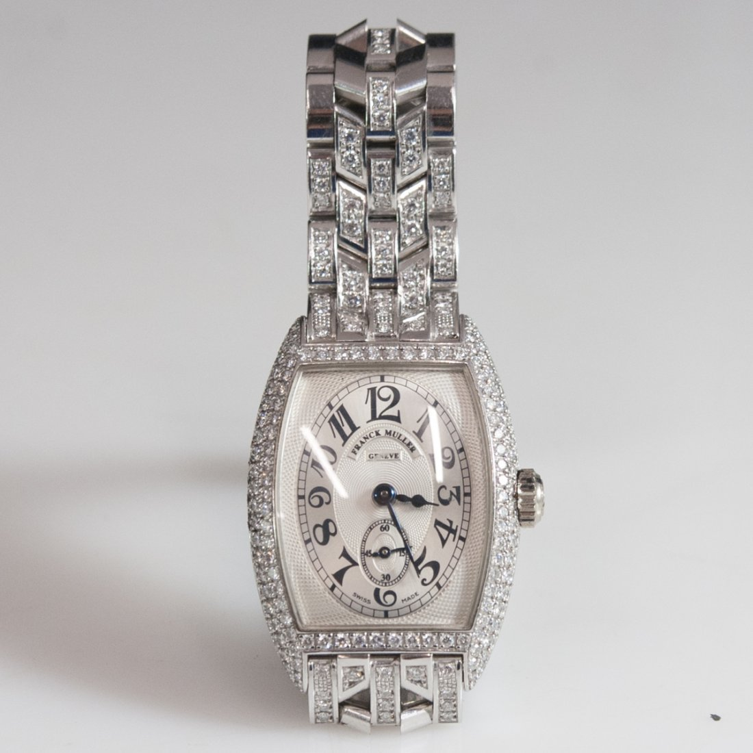 Franck Muller Chronometro 18kt Gold Diamond Watch