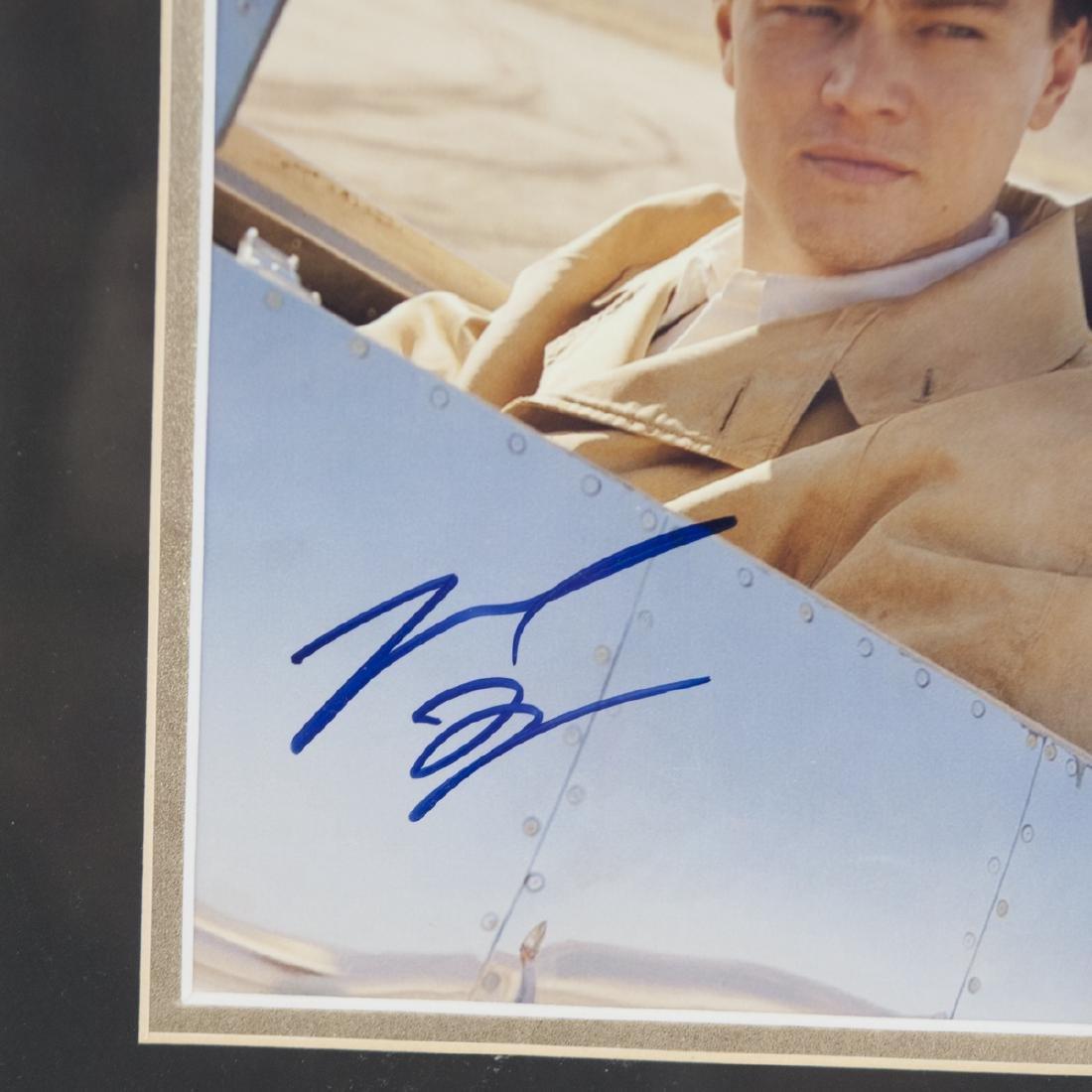 """Leonardo Dicaprio Signed """"The Aviator"""" Poster - 2"""