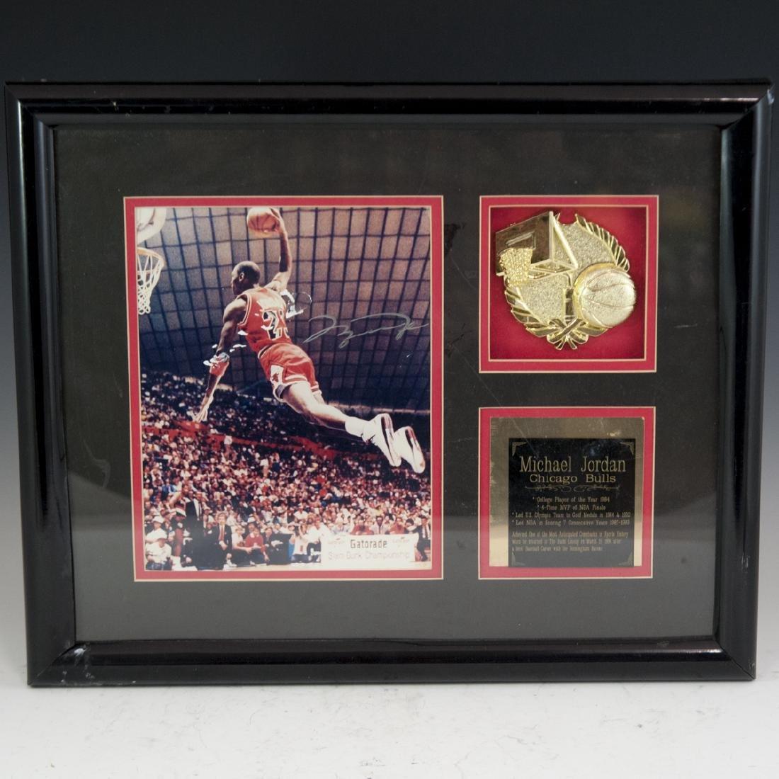 Signed Michael Jordan Memorabilia