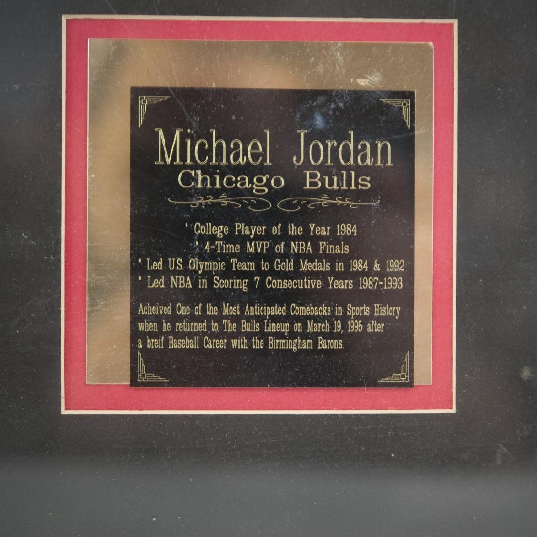 Signed Michael Jordan Memorabilia - 2