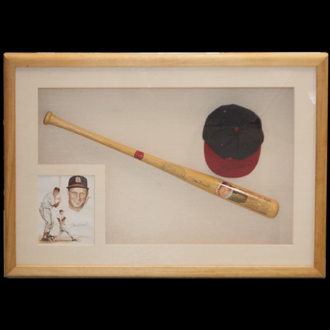 "Autographed Stanley ""Stan"" Musial Memorabilia"