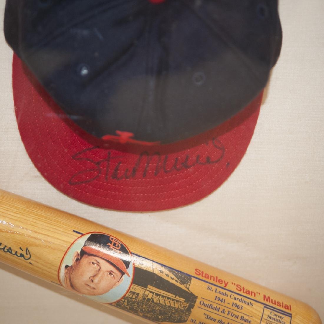 "Autographed Stanley ""Stan"" Musial Memorabilia - 2"