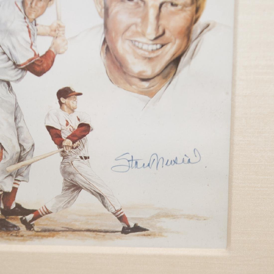 "Autographed Stanley ""Stan"" Musial Memorabilia - 5"