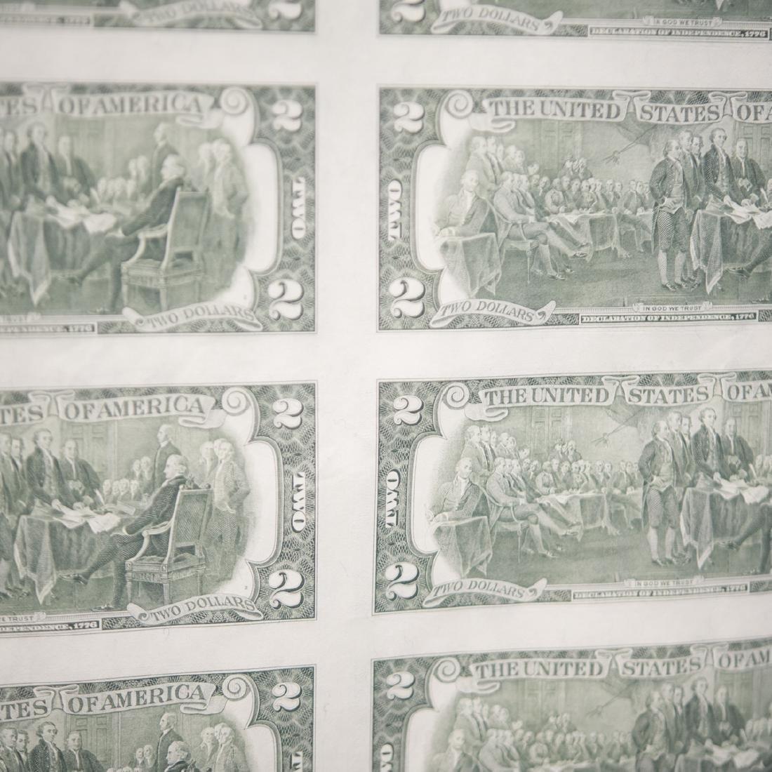 1976 Uncut $2.00 Bills - 4