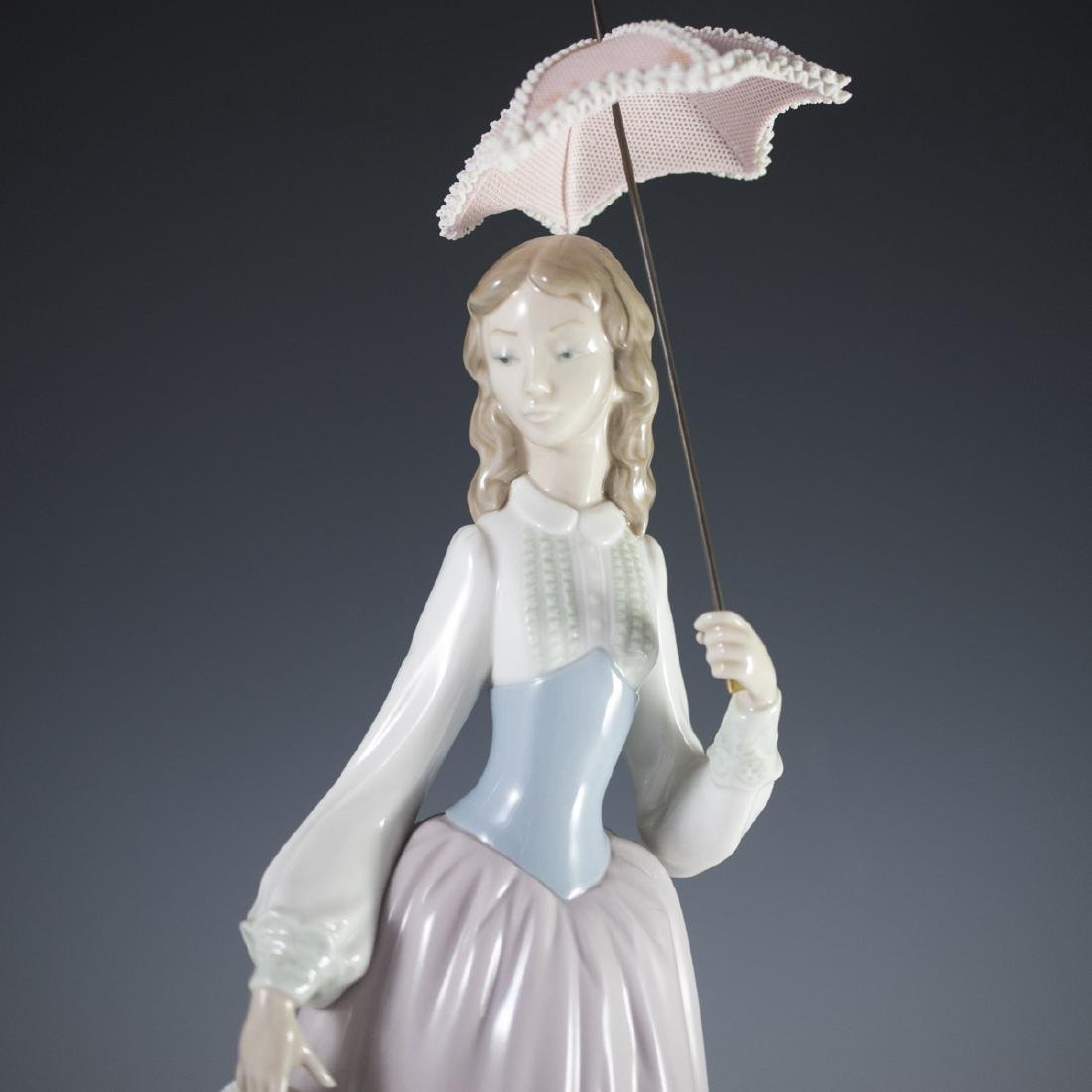 "Lladro Porcelain ""Lady With Parasol"" - 2"