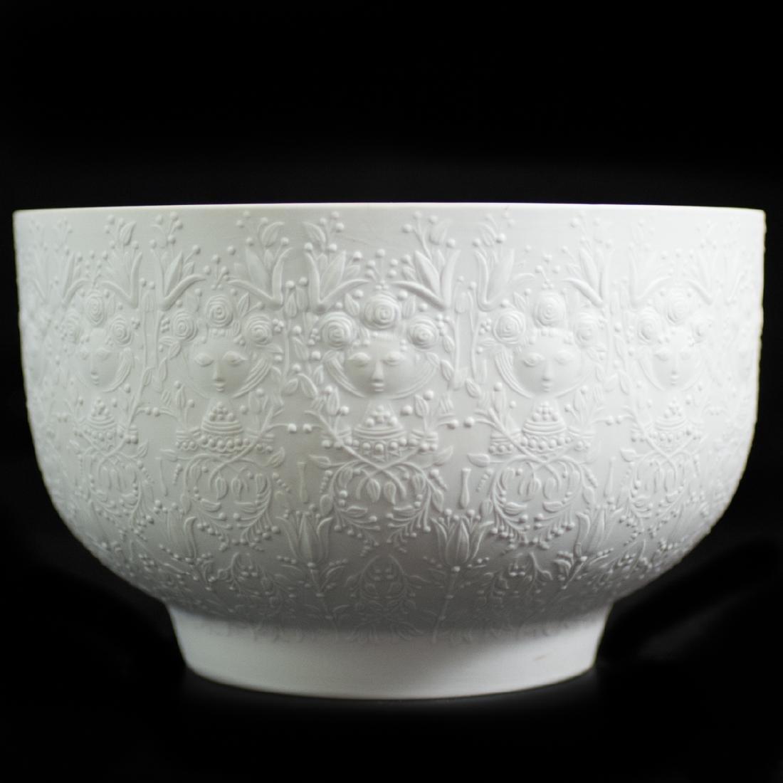 Rosenthal Bjorn Wiinblad Porcelain Fruit Bowl