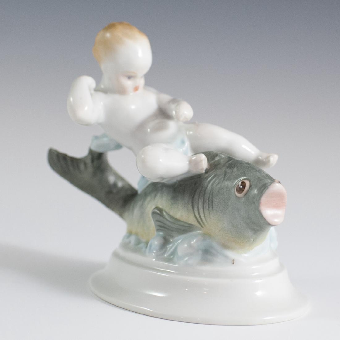 Herend Porcelain Figurine - 4