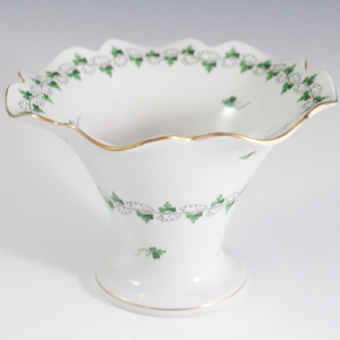 """Herend Porcelain """"Persil"""" Vase - 2"""