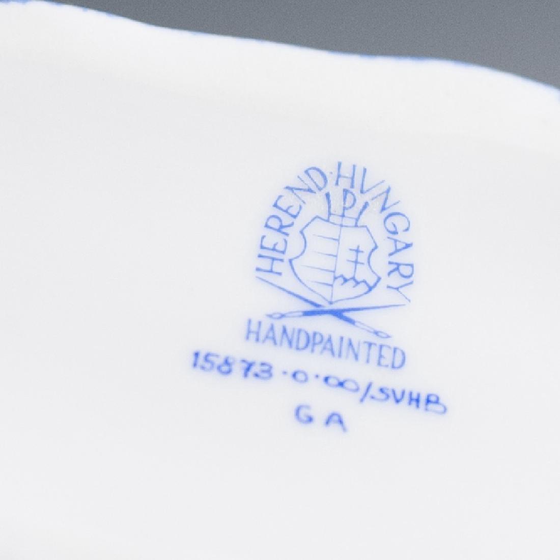 "Herend Porcelain Fishnet""SVHB"" Yorkshire Terrier - 3"