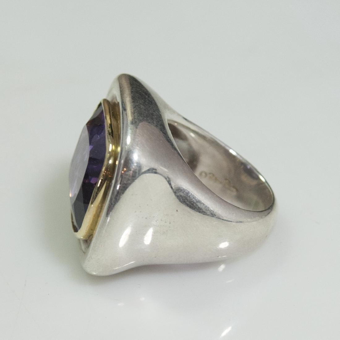 Tiffany & Co. Paloma Picasso Sterling 18kt Amethyst - 2