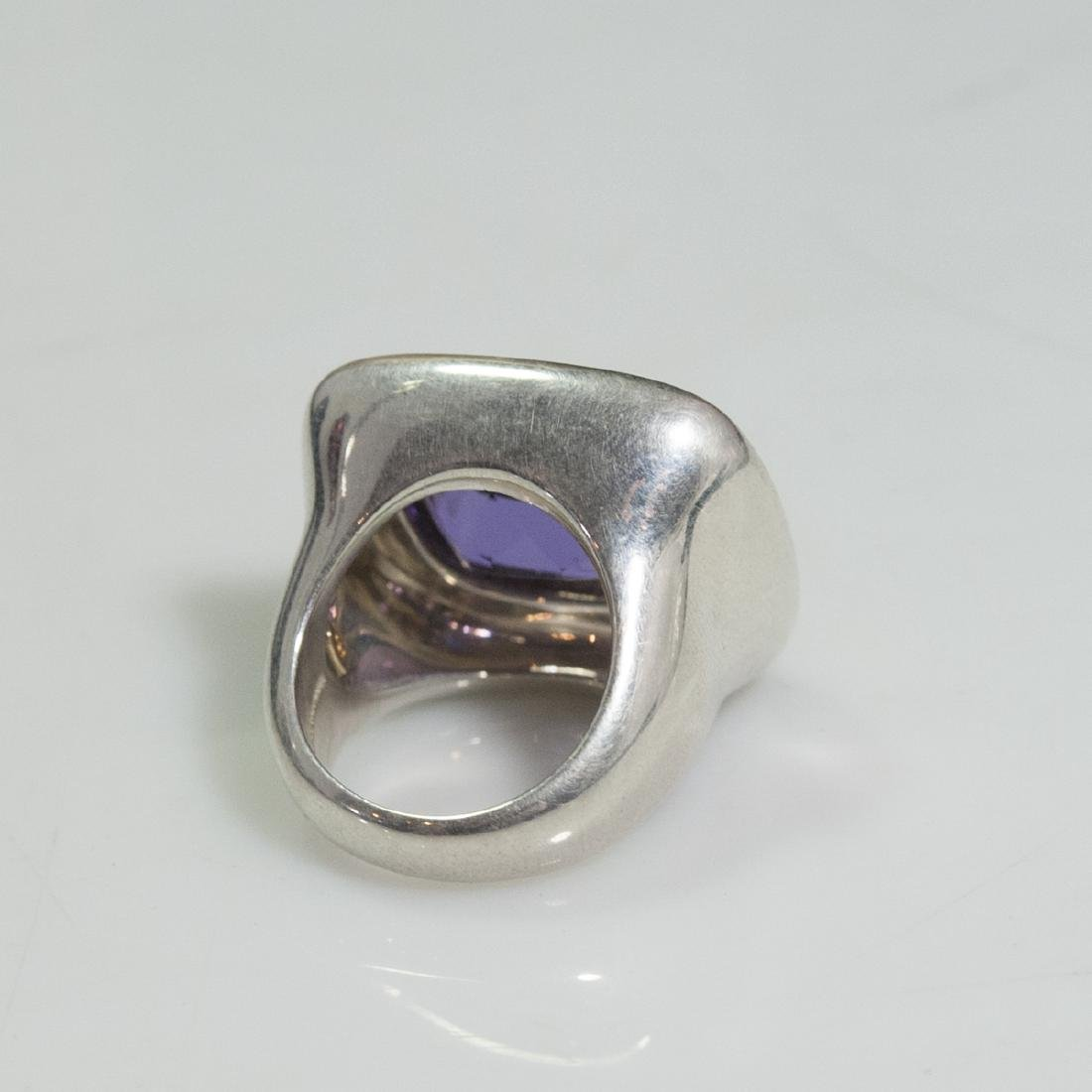 Tiffany & Co. Paloma Picasso Sterling 18kt Amethyst - 4