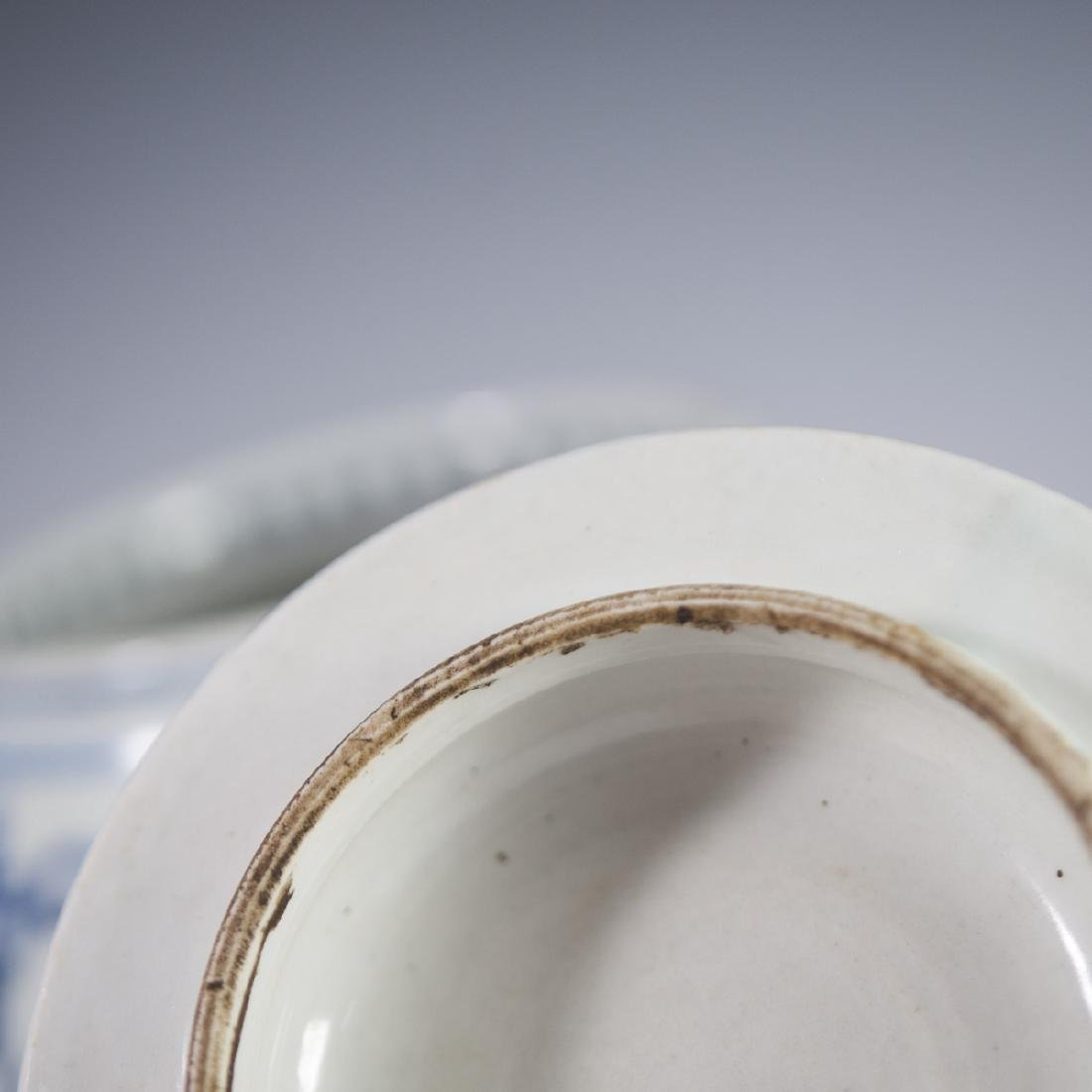 Chinese Porcelain Blue & White Jar - 5