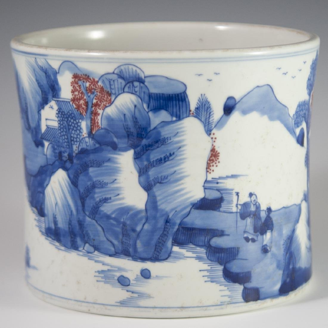 Chinese Porcelain Brushpot
