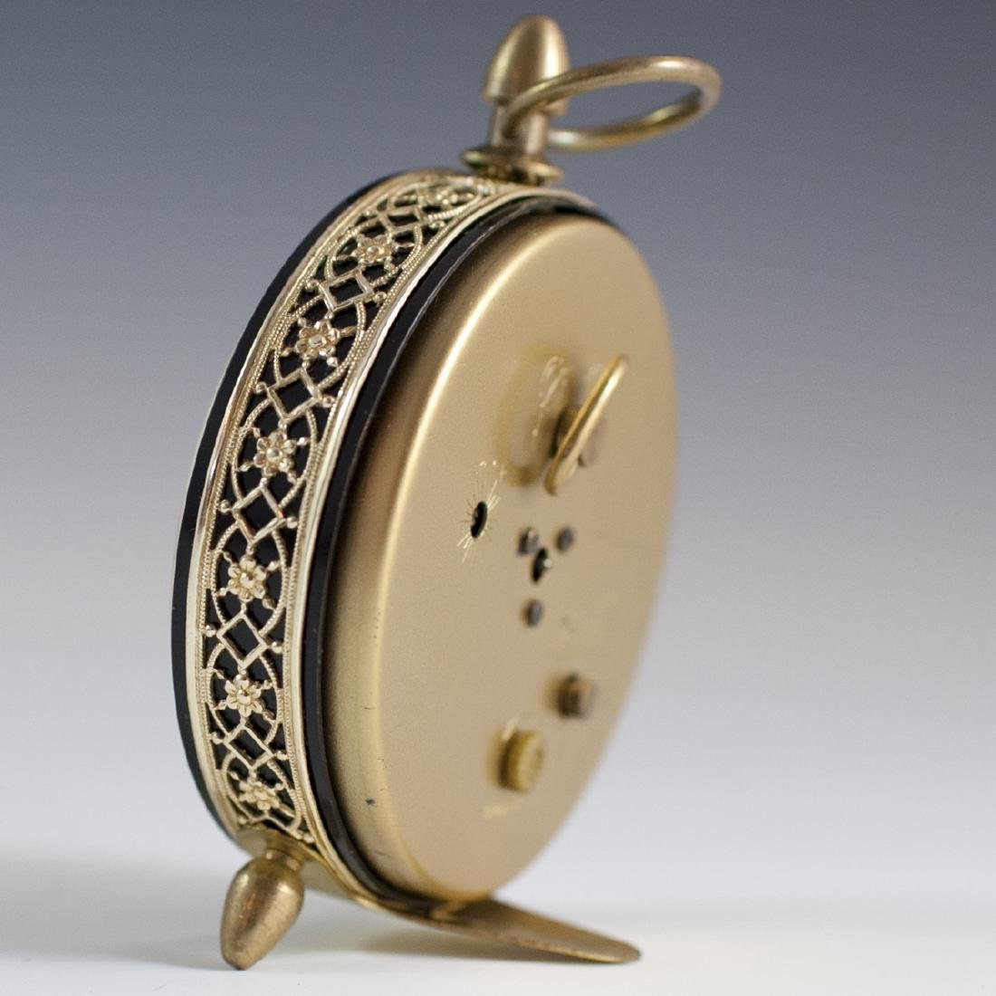 Bulova Mother of Pearl Alarm Clock - 2