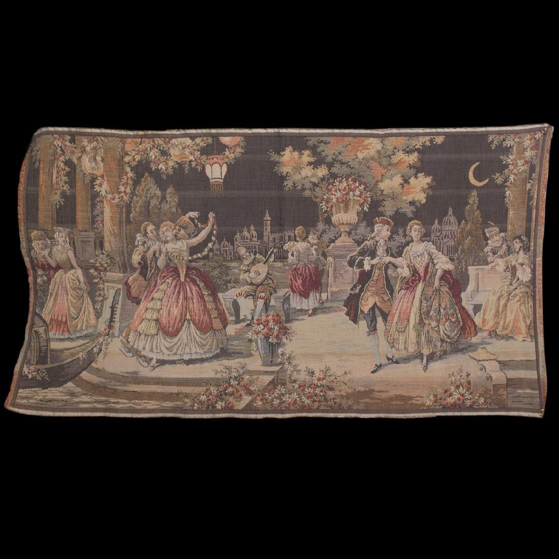 Vintage Belgian Tapestry