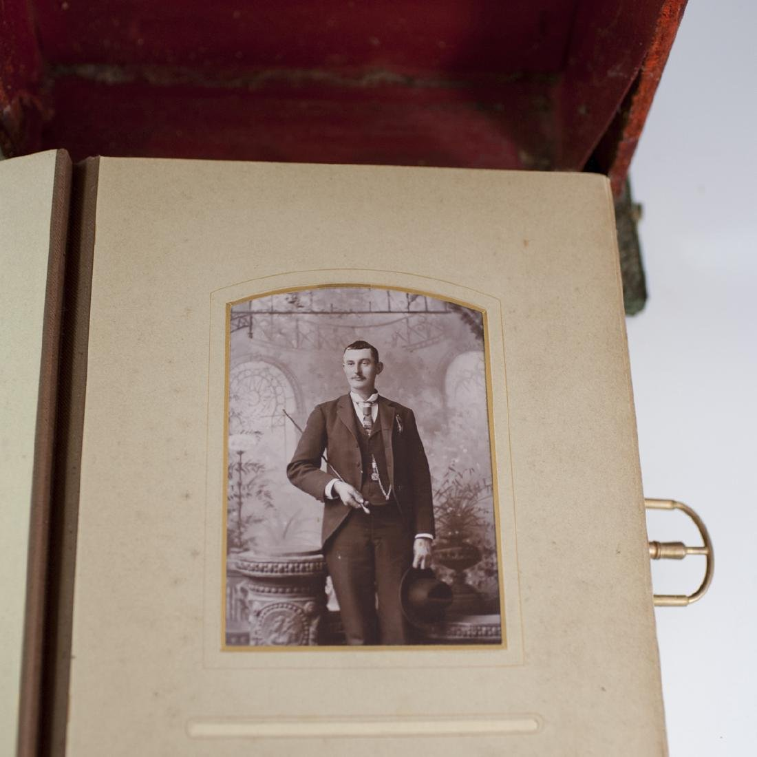Antique Victorian Photo Album & Photographs - 4